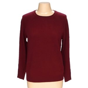 F21 Burgundy Sweater size Medium